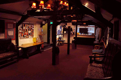 Bromley Little Theatre bar